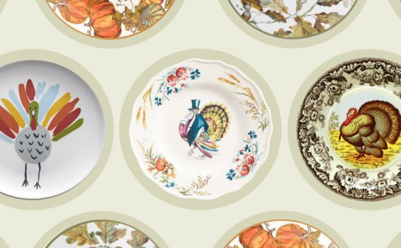 Thanksgiving dishes plates