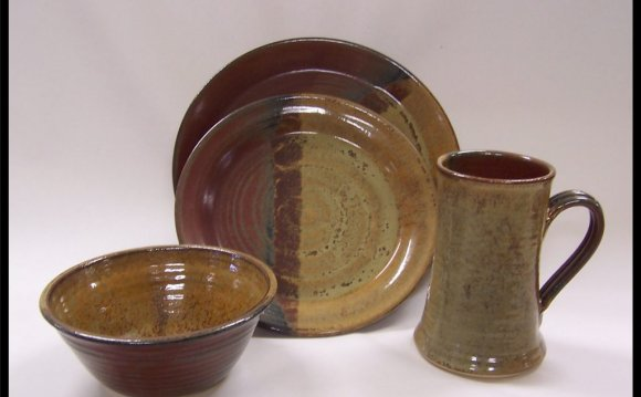 Stoneware 16pc Glazed