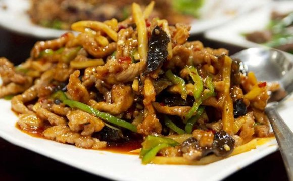 Chinese stir fried pork dish
