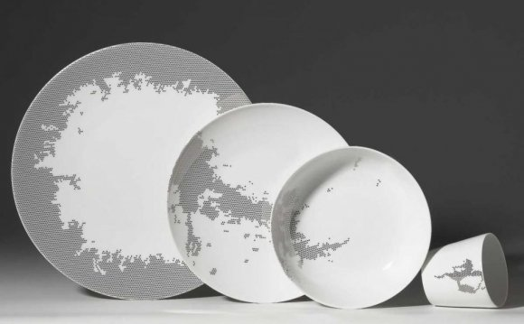 Square Stoneware Plates 11