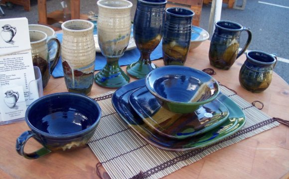 Blue Square Dinnerware
