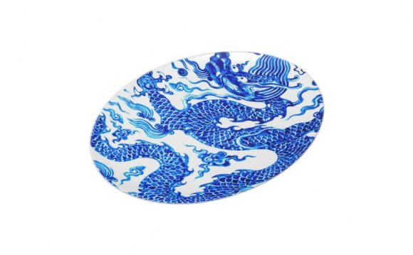 Blue Chinese Plates