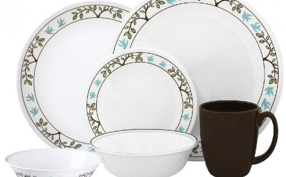 Corelle TREE BIRD 24pc