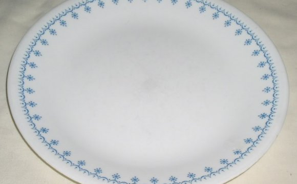 I found an old set of Corelle