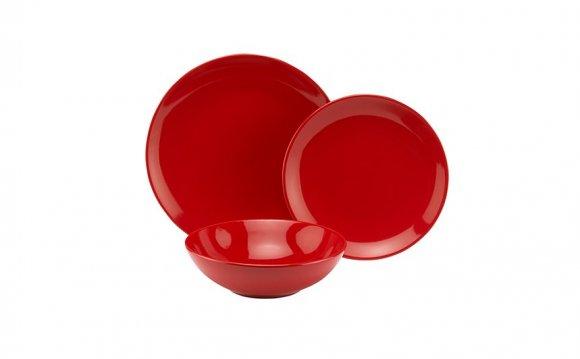 George Home Red Dinner - Set