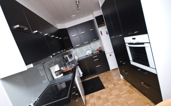 Good Black And White Kitchen