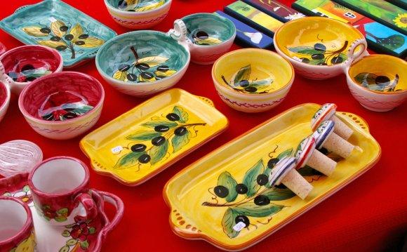 Italian Bowls And Plates