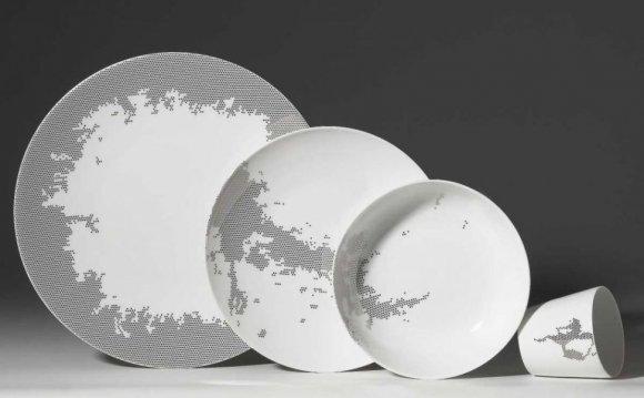 Lee 16pc Square Porcelain