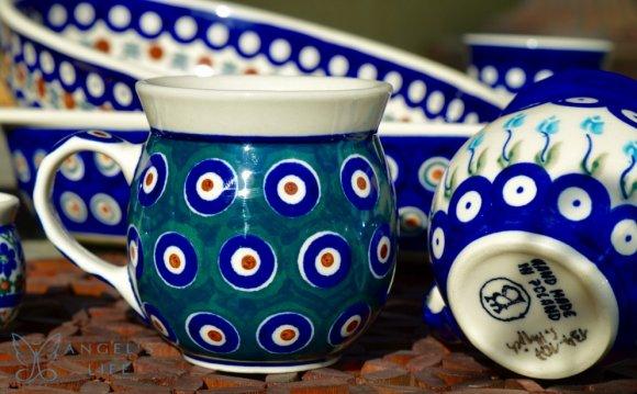 Polish Pottery - Bubble Mug