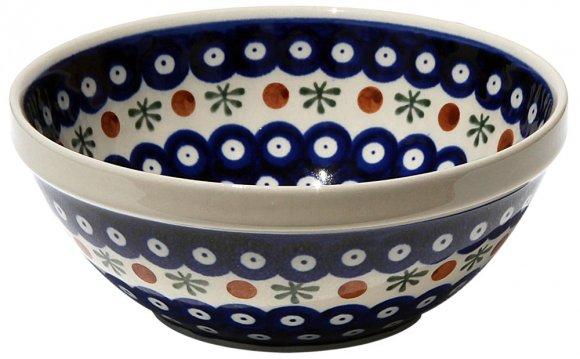 Polish Pottery Bowl 7 Inch