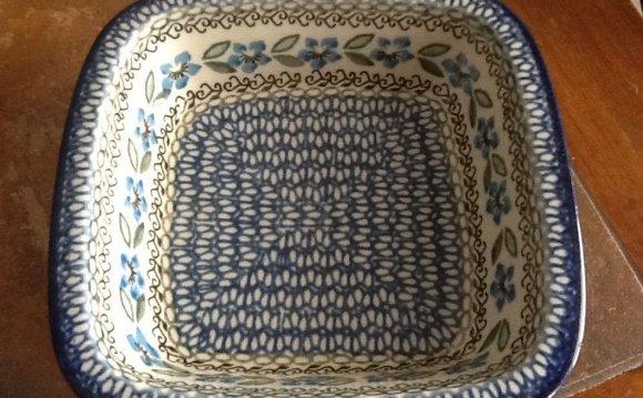 Polish Pottery Unikat 7 Inch