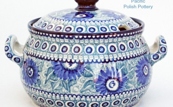Polish Pottery Unikat Covered