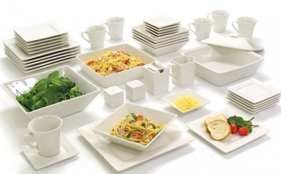 Dinnerware Set For 6 Square