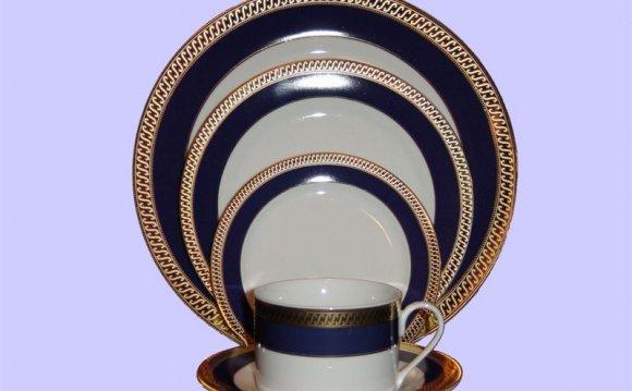 Kingston China Plates