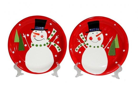 Snowman Christmas Dinner