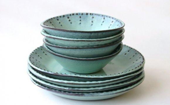 Stoneware Plates And Bowls