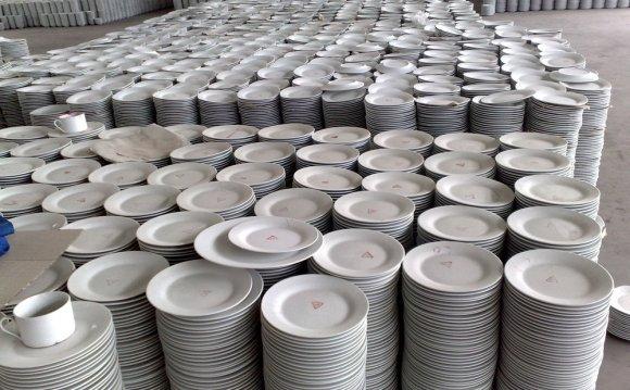 Round poland porcelain