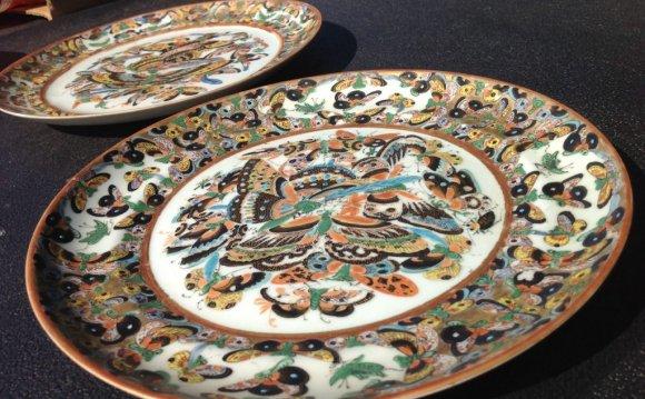 Asian Dinner Plates