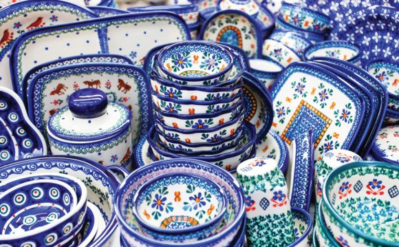 Traditional Polish pottery