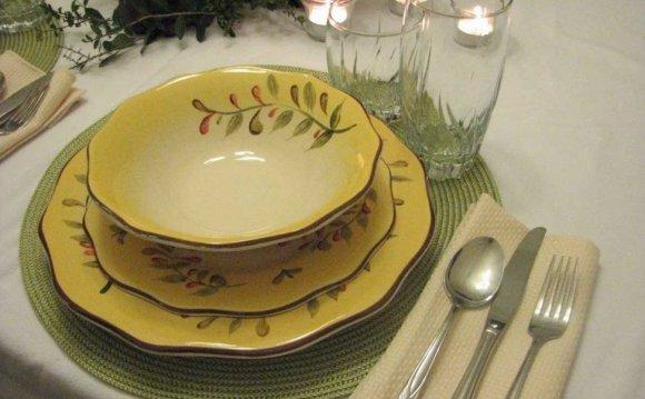 Of Tuscan Style Dinnerware