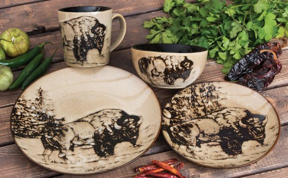 Western Dinnerware at Lone