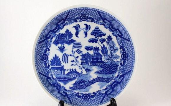 Vintage Oriental Chinese Scene