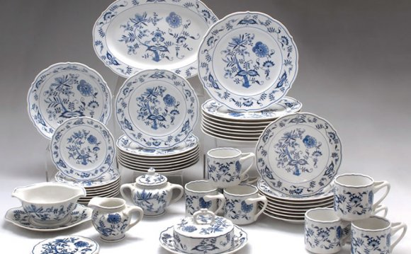 White China Serving dishes