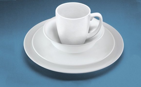 Corelle White Dinner Set