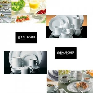 Bauscher Porcelain Dinnerware Made in Germany