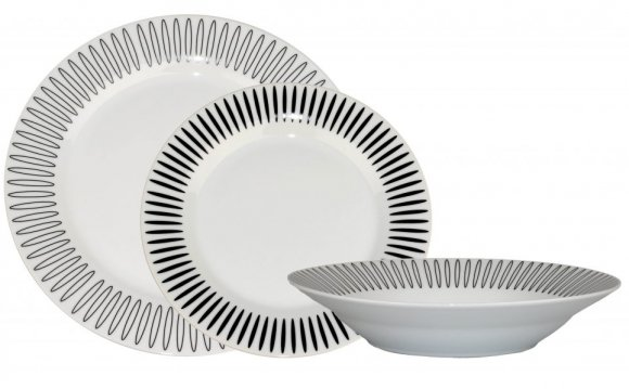 Black and White Dinner Sets