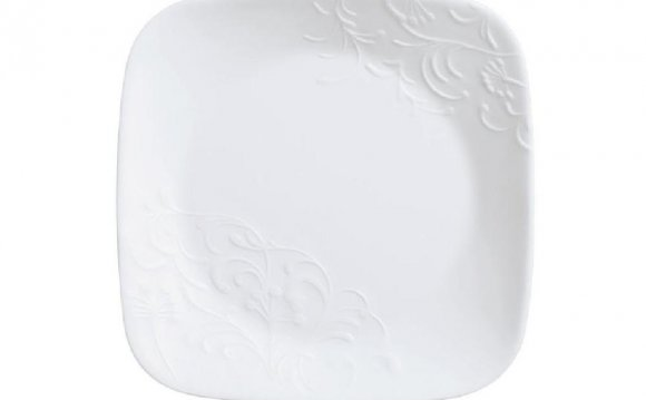 Corelle Square White Dishes