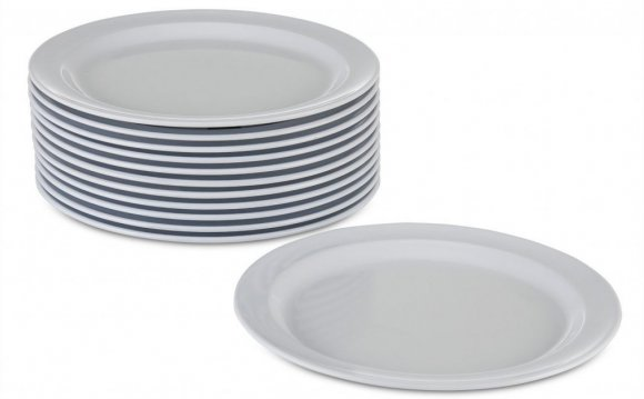 Gray Square Dinnerware Sets