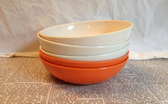 Funky cereal bowls