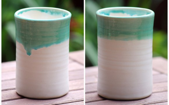 Ceramic drinking glasses