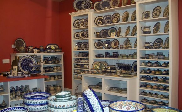 Polish Pottery place settings