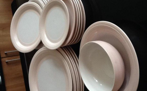 Pottery Dinner Plates