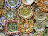 Colorful Ceramic Plates