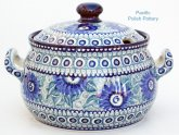 Polish Pottery Cookie Jar