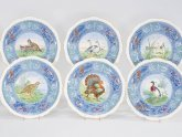 Porcelain Dinner plates Set of 12