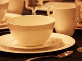 White Bone China Dinnerware Sets