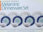 White Square Dinnerware Sets for 12