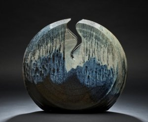 Willi Singleton, Woodfired functional stoneware, Photograph by Ken Ek